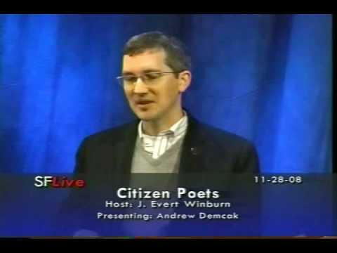 Andrew Demcak on Citizen Poets, part 1