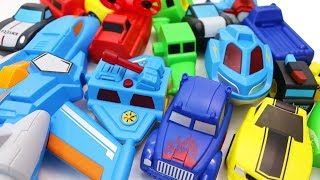 Building Blocks Toys for Children Toy Vehicles and Robot with Magnetic Blocks