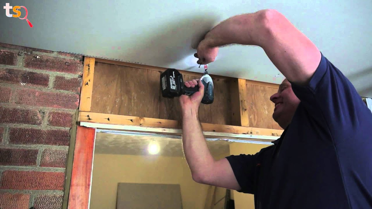 Tommy S Trade Secrets How To Plasterboard A Ceiling