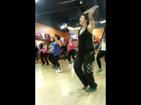 Zumba with Gail at the Womens Fitness Clubs of Canada Promenade club!