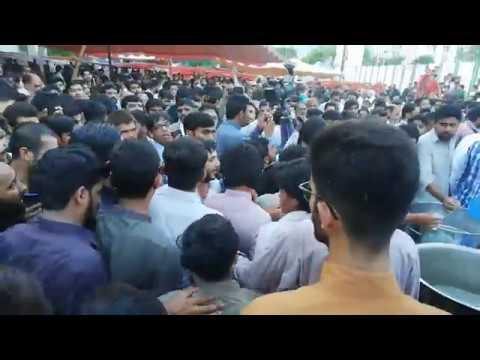 Mir Hassan Mir - Hik Wari Sar Mekon Babay Da   - Barsi Shaheed Aon Rizvi 2019 G-6 Islamabad