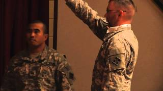 588th BEB NCO Induction Ceremony