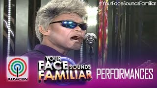 Your Face Sounds Familiar: Jay R as Pepe Smith -