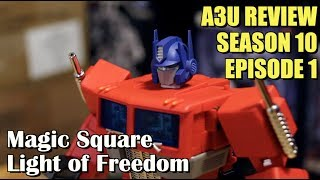 Magic Square MS-01 Light of Freedom FIRST LOOK - [A3U REVIEW S10 E1]