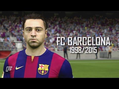 Xavi Hernández - FC Barcelona: 1998/2015 (FIFA 15 Tribute)