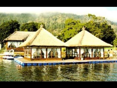 RESTO APUNG - Floating Restaurant in Kintamani Bali - Indonesia Tourism - Wisata Kuliner [HD]