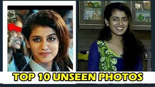 Priya Prakash Varrier Rare And Unseen Pics