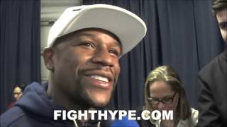 FLOYD MAYWEATHER SAYS AMIR KHAN FIGHT NEVER HAPPENED BECAUSE