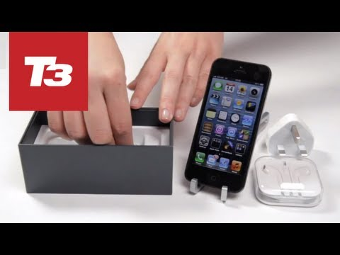 Apple iPhone 5 Unboxing -- Exclusive & First on YouTube