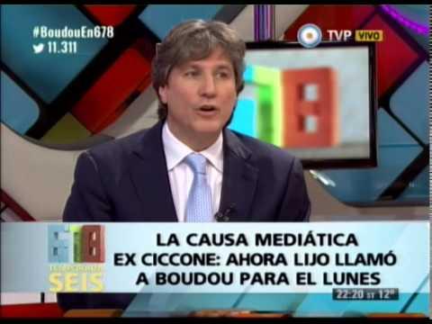 DEBATE CON AMADO BOUDOU - LA CAUSA MEDIATICA EX CICCONE - 05-06-14