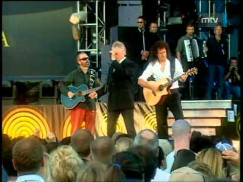 Queen&Dave Stewart - Say It's Not True (46664 Cape Town 2003)