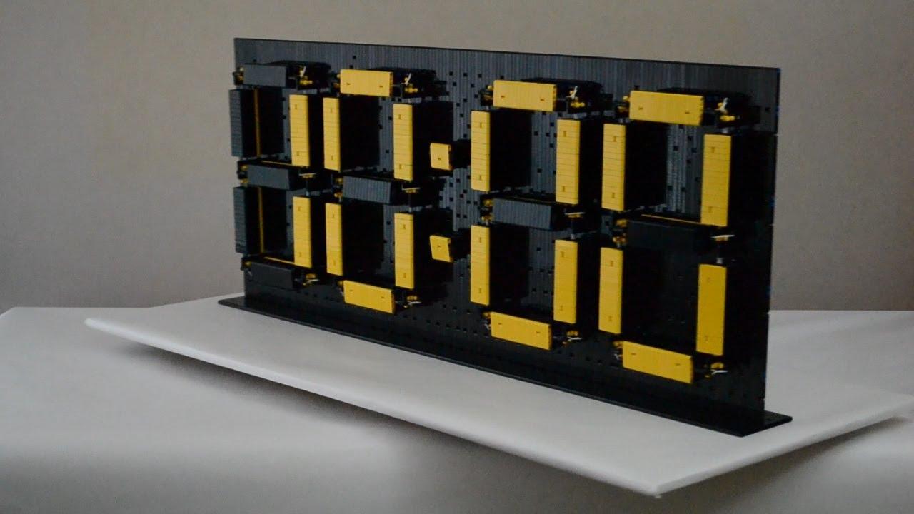 time twister 2 lego mindstorms digital clock youtube. Black Bedroom Furniture Sets. Home Design Ideas