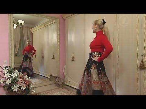 Юбка из платков от Ольги Никишичевой