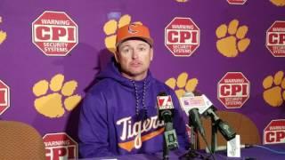 TigerNet.com - Monte Lee post South Carolina game 1
