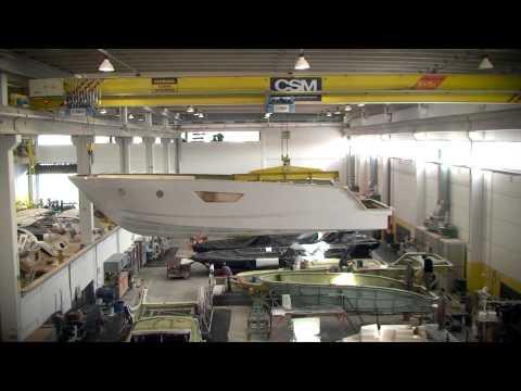 Linha de Produção Sessa Marine no Brasil - Fábrica Intech Boating