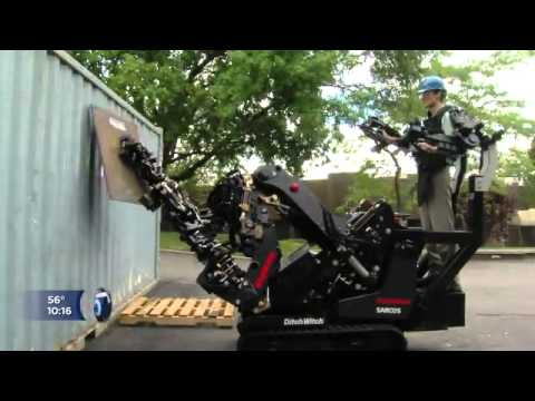 Raytheon Sarcos Modified Ditch Witch