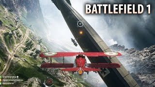 BATTLEFIELD 1 - NEW ALPS MAP GAMEPLAY! Monte Grappa Alps Multiplayer Gameplay Walkthrough!