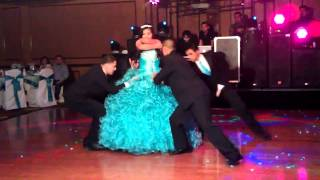 Skydreams quinceñera valz whit Emily