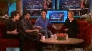 Jonas Brothers interview on Ellen - (Pt 1) - 2-17-09