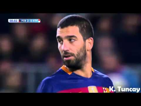 Arda Turan vs Athletic Bilbao ☆ Barcelona ☆ HD ☆