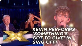 Kevin performs Labrinth's 'Something's Got To Give' in sing-off! | Live Show 4 | X Factor: Celebrity