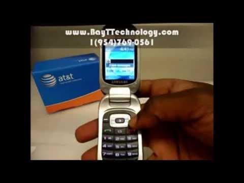Samsung SGH-T245G Video clips