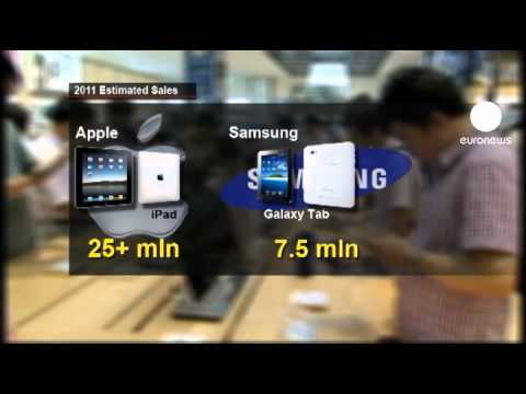 Apple blocks Samsung tablet sales in EU