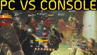 PC vs Console Players on PS4! Gameplay (The Division 1.8.3)