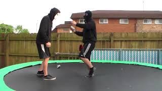 xDTWEz: The Masked Warrior vs Ghost