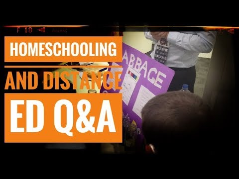 Q&A about HomeSchooling and Distance Ed