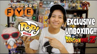 F.Y.E. Exclusive Master Roshi Funko Pop!!!   Unboxing!!