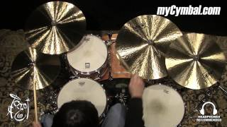 Paiste Formula 602 Modern Essentials Cymbal Set (SET-1111414G)