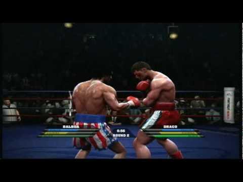 fight night round 4 rocky balboa vs ivan drago part 1