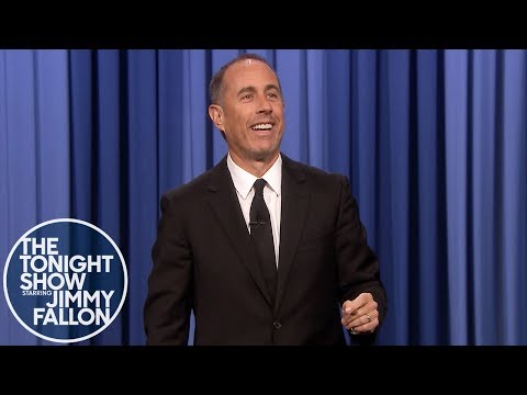 Jerry Seinfeld Does Jimmy's Monologue