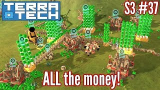 Terratech   Ep37 S3   Automated Mining - Money Galore!!!   Terratech v0.8.1.3 Gameplay