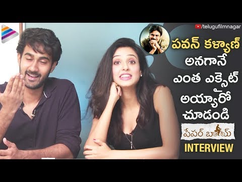 Sanotsh Shoban and Riya Suman about Pawan Kalyan | Paper Boy Movie Interview | Sampath Nandi | Tanya