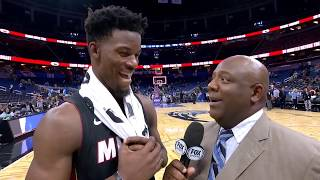 Jimmy Butler Jokes Tyler Herro Should Have Been Thrown Out Of Game