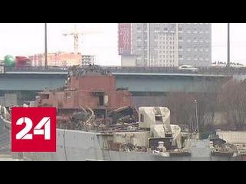 Кладбище кораблей: речные суда ржавеют в Кожуховском затоне
