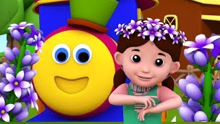 Lavender's Blue Dilly Dilly | Songs for Kids by Bob The Train Cartoons