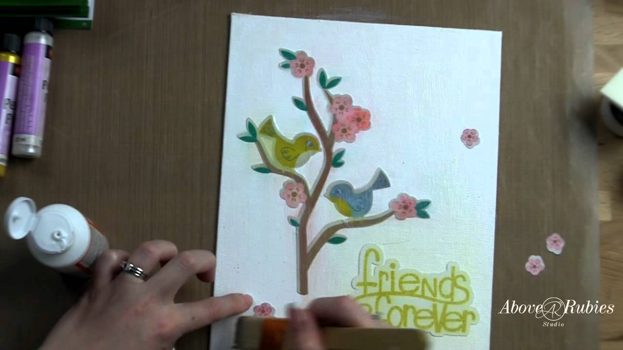 Cricut Imagine Canvas Project For Home Decor Or Gift Youtube