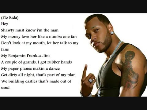 FLO Rida ft. Ke$hA-Right round with lyrics!