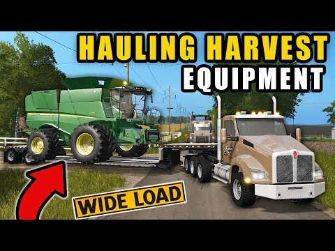 SQUAD'S HAULING CO. DELIVERYING CUSTOM HARVESTING EQUIPMENT! thumbnail