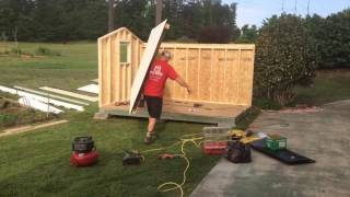 My Tuffshed delivery and installation