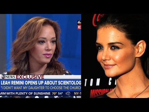 Leah Remini Gets Emotional About Katie Holmes' Apology to Her