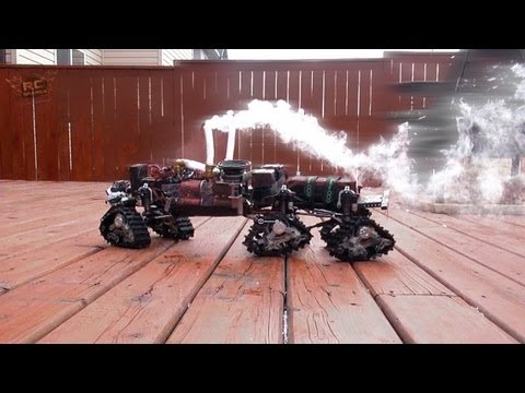 "RC ADVENTURES - 6WD CYCLONES, 6 Tracks & 4 MOTORS ""HD OVERKiLL"" Custom Radio Controlled Truck"