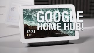 Google Home Hub Unboxing and First Look!