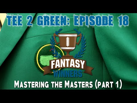 Tee 2 Green: Mastering the Masters (Part 1)