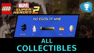 Lego Marvel Super Heroes 2 - ALL MINIKITS, PERIL, GOLD BRICKS and CHARACTERS Level 1