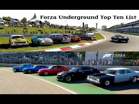 Forza Motorsport 6 - Top 10 List Season 1 Episode 4