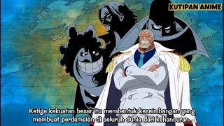 Ketika Garp memberitahu Luffy tentang Yonkou, sub indo (One piece)